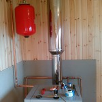 Монтаж дровяного отопления