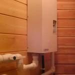 Водяное отопление дачи